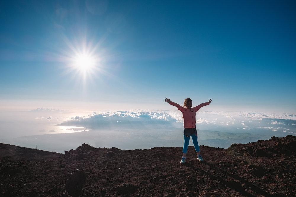 mount haleakala summit