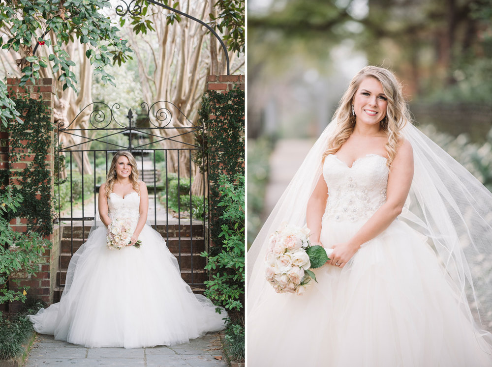 fairytale bridal portraits