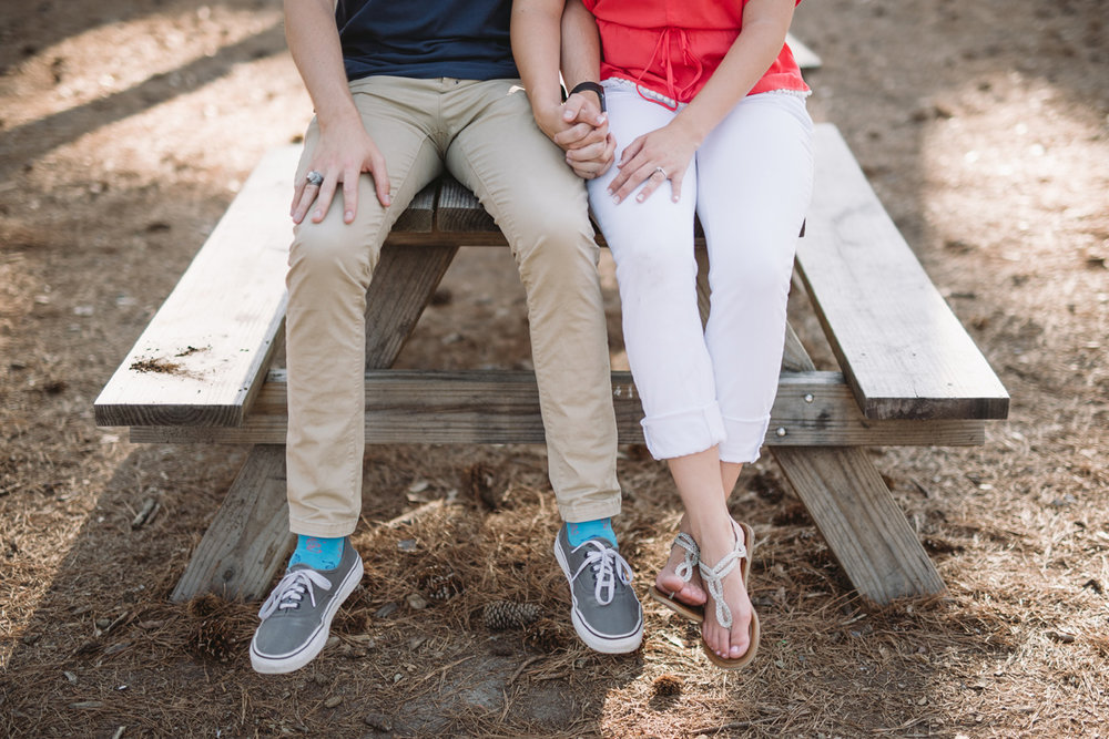 state park engagement session