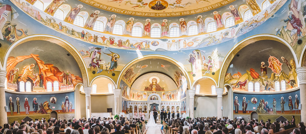 Wedding / Holy Trinity Greek Orthodox Church / Columbia, SC
