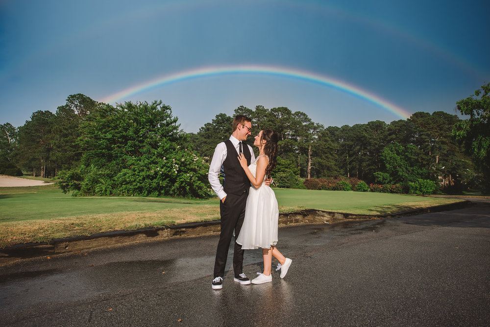 Double Rainbow / Spring Valley Country Club / Columbia, SC