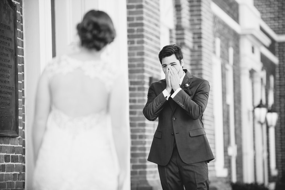First look / Boyce Chapel / Columbia, SC