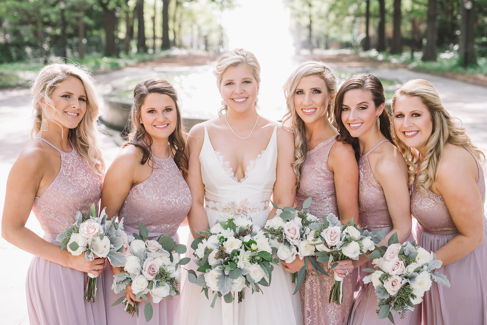 Bridesmaids / Lace House / Columbia, SC