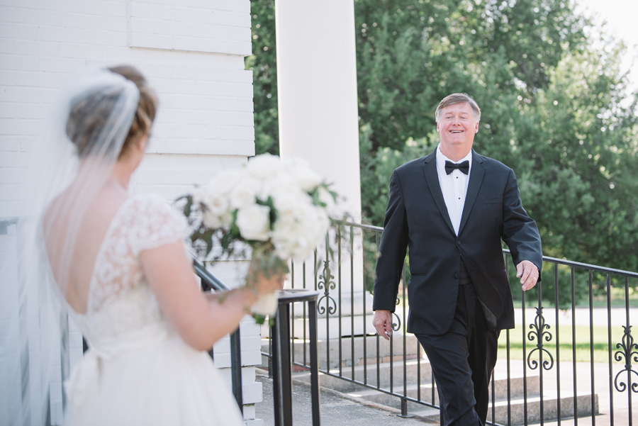 father daughter first look