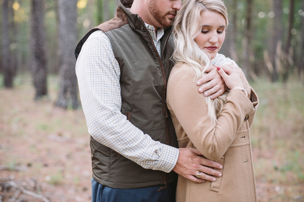 sweet fall engagements