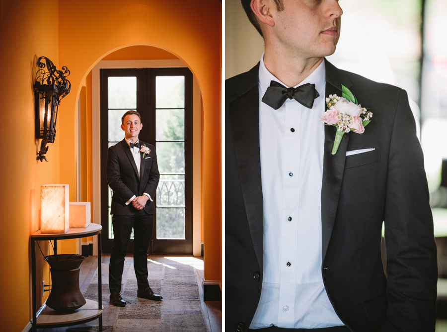 grooms portraits hotel domestique