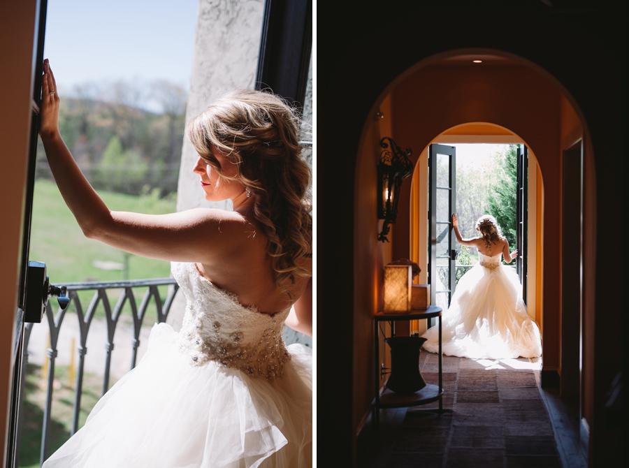 bridal portraits hotel domestique