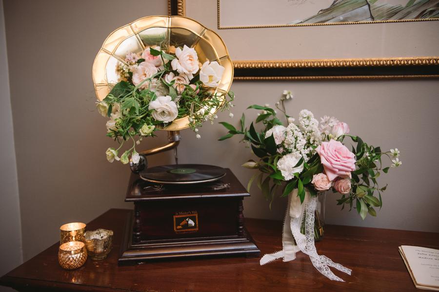 vintage floral design fern studio