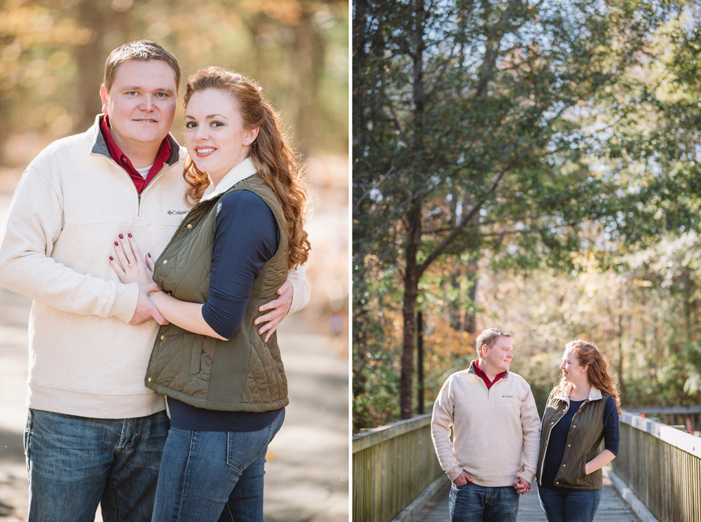 engagement session saluda shoals park