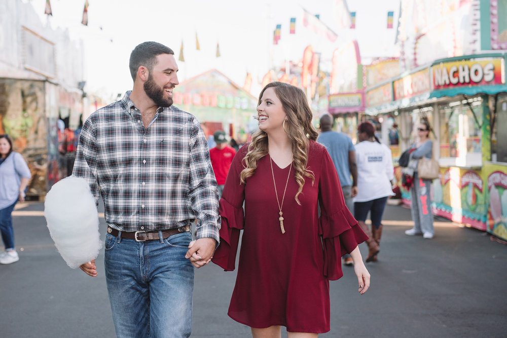 fair engagement photos