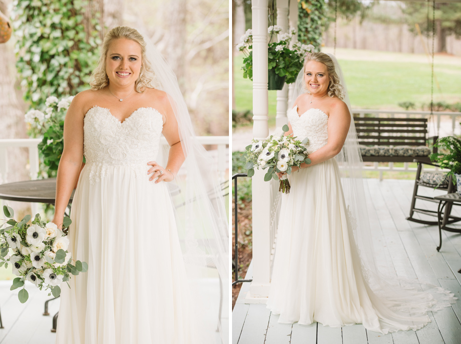 front porch bridals