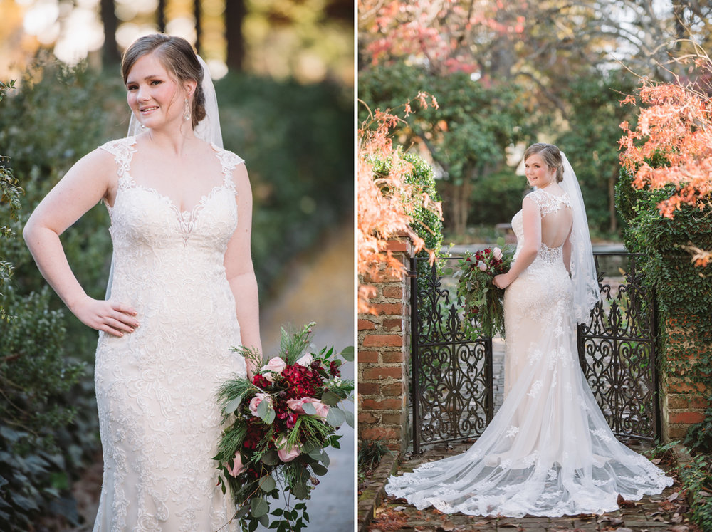 lace house bridal portraits