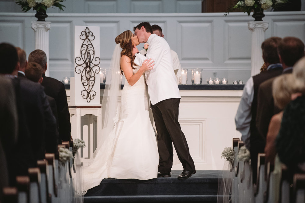 first kiss boyce chapel