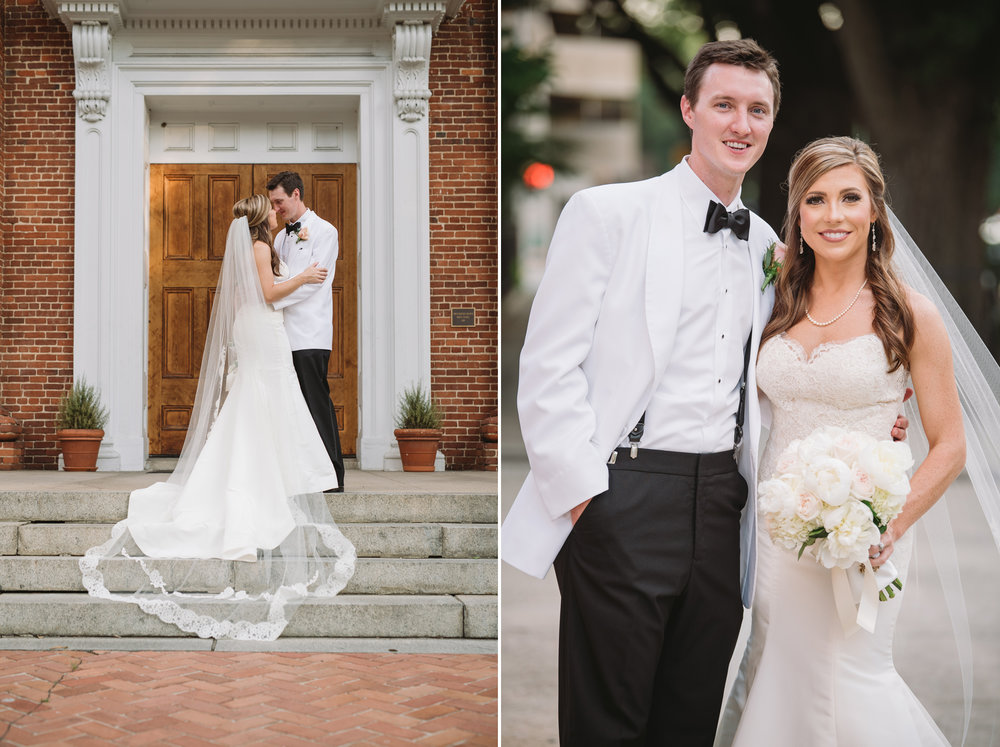 bride and groom portraits columbia sc