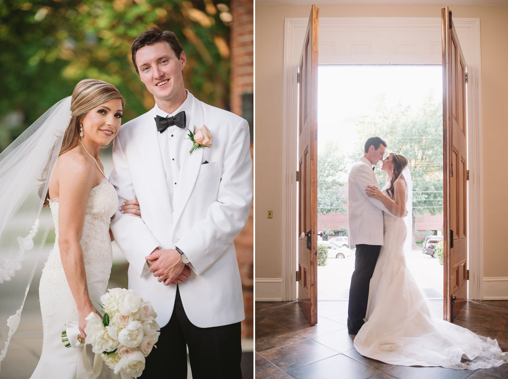 southern wedding portraits