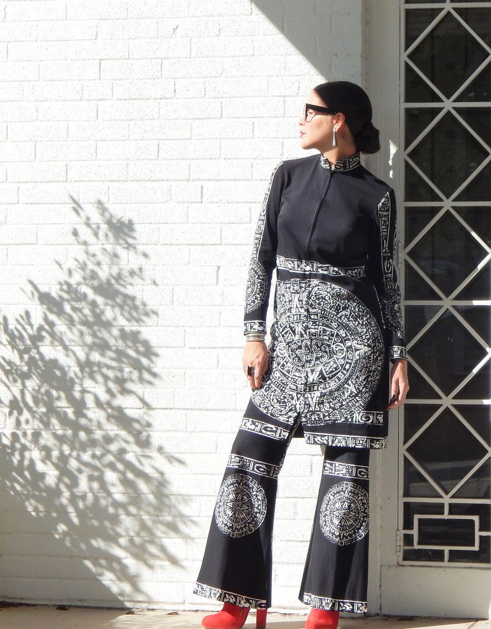 Image credit: Idallia Alicea  THE Aztec tunic. #covet
