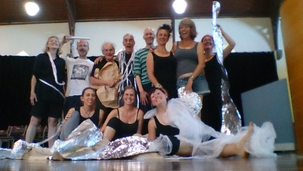 From left: Julia Davis, John McDonald, Richard Hart, Richard Mueck, Simon T Rann, Dan Goronszy, Colleen Burke, Victoria Osborne, Angie Macmillan, Jenny Ellis and yours truly!