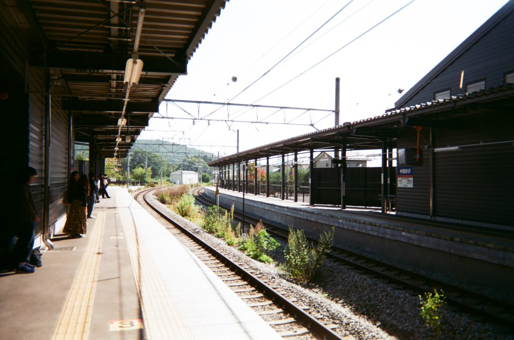 Taking a local train to Matsumoto, embarking on another part of my adventure to the Japanese Alps
