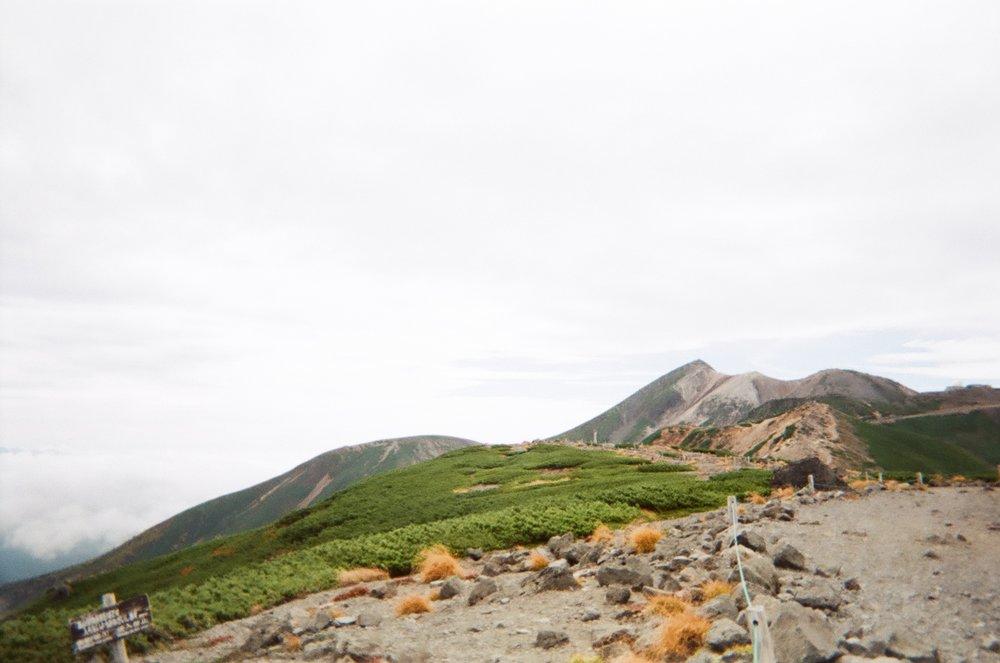 Scaling Mt Fujimidake