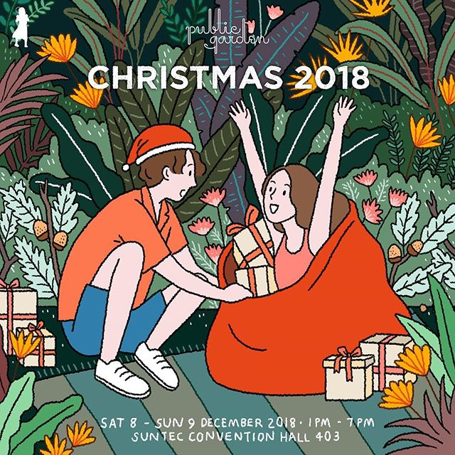 We'll be joining in the fun at Public Garden for a tropical Christmas this weekend 1-7pm! Look out for @woodandlead's booth to enjoy festive deals for your gifting needs. ✨🌲
