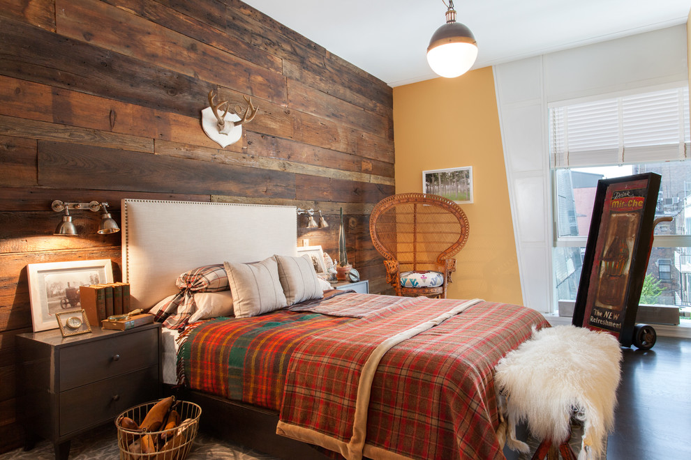 Bedroom with a Tartan Twist from   Well Built Co