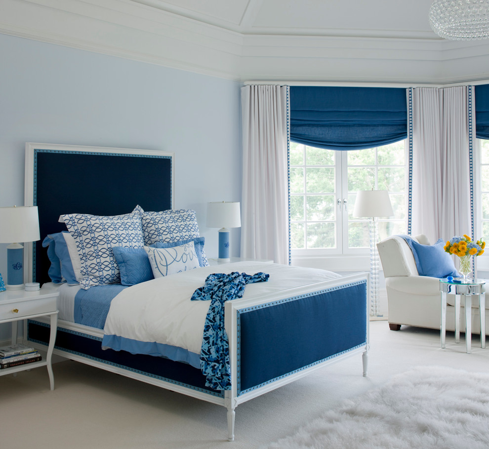Classy & Stylish Design with a Burst of Blue from   Plum Interiors