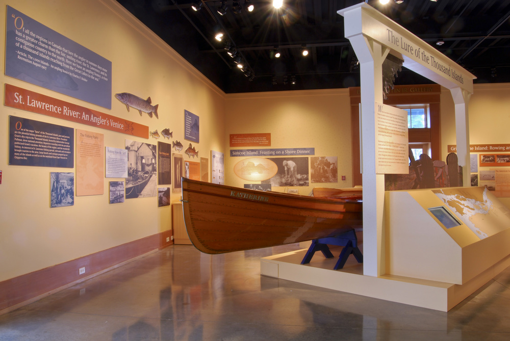"""The Lure of the Thousand Islands"" exhibition   Antique Boat Museum, Clayton, N.Y."