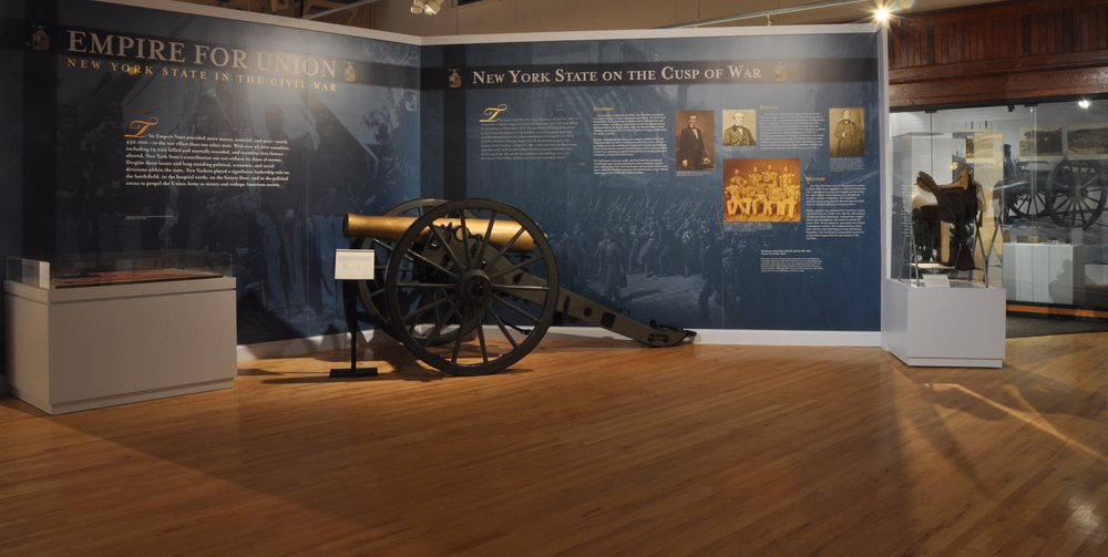 """Empire For Union"" exhibition   New York State Military Museum, Saratoga Springs, N.Y."