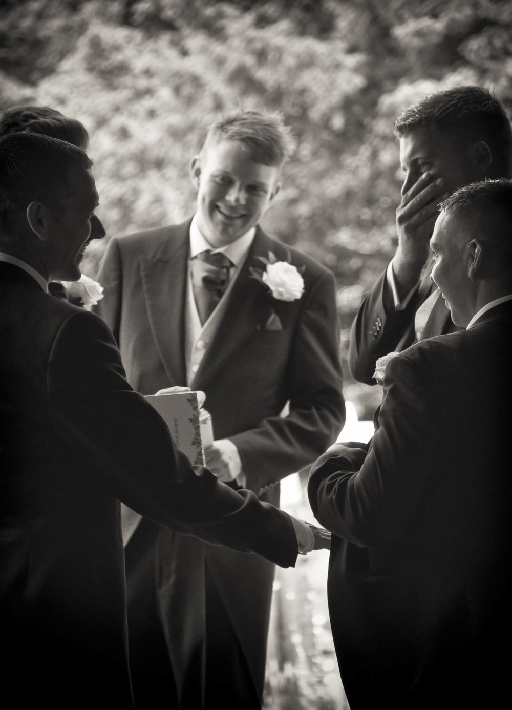 The Groomsmen, 2014   Wisborough Green, England