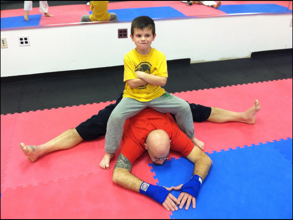 Sensei Del Ross & his son - family owned & operated!