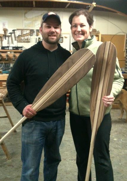 Paddle Making Class Urban Boatbuilders