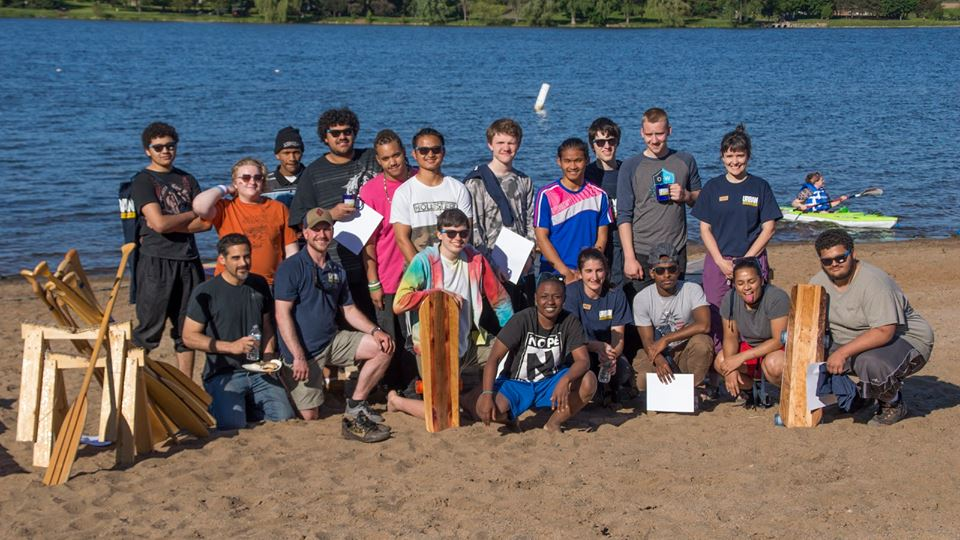 Graduating Apprentices at Lake Phalen.