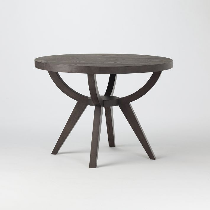 """DINING ROOM TABLE -WEST ELM, ARC BASE PEDESTAL, 60"""" DIA    I'll share a quick story about the table. I first saw it online in November. In December when I was ready to buy, it disappeared from the website. I called customer service and was told that it was no longer available- indefinitely. Not wanting to give up, I visited my local West Elm and the store manager checked the entire nationwide inventory system. He found one left that was located in Tampa, FL. I was ecstatic and immediately placed the order. Fast forward to December 27th- UPS has reported that the table was damaged in transit and is being sent back to Tampa. As of now, I do not know the condition of the table. If I can't have my table, heads are going to roll!"""