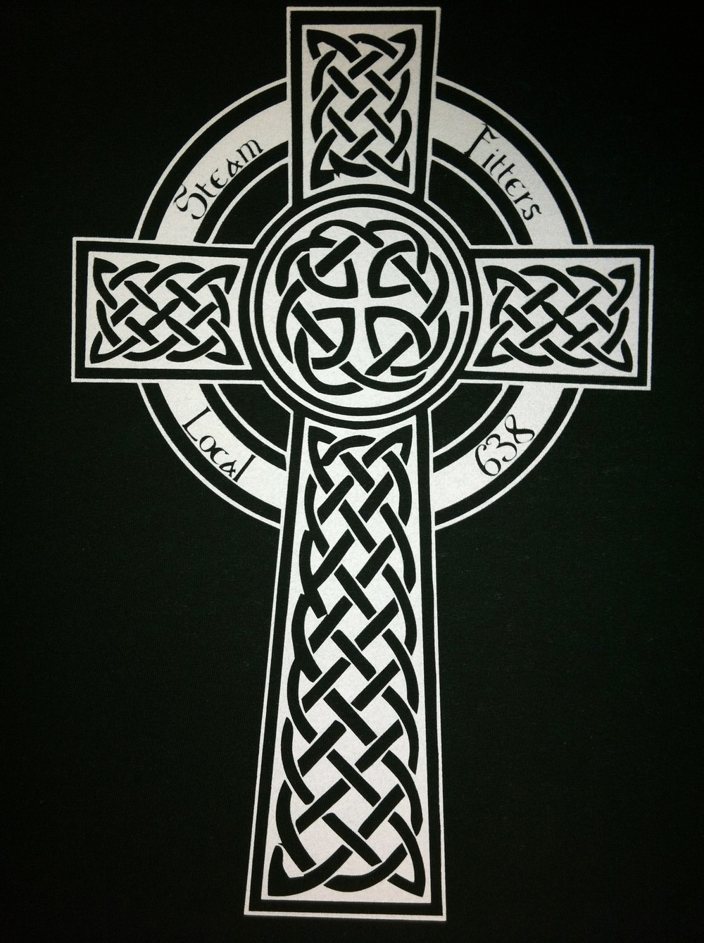 Steam Fitters Union Celtic Cross