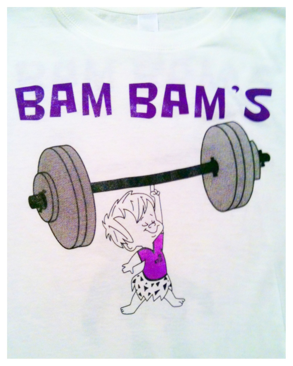 Team Bam Bam Crossfit T-Shirts (Front)