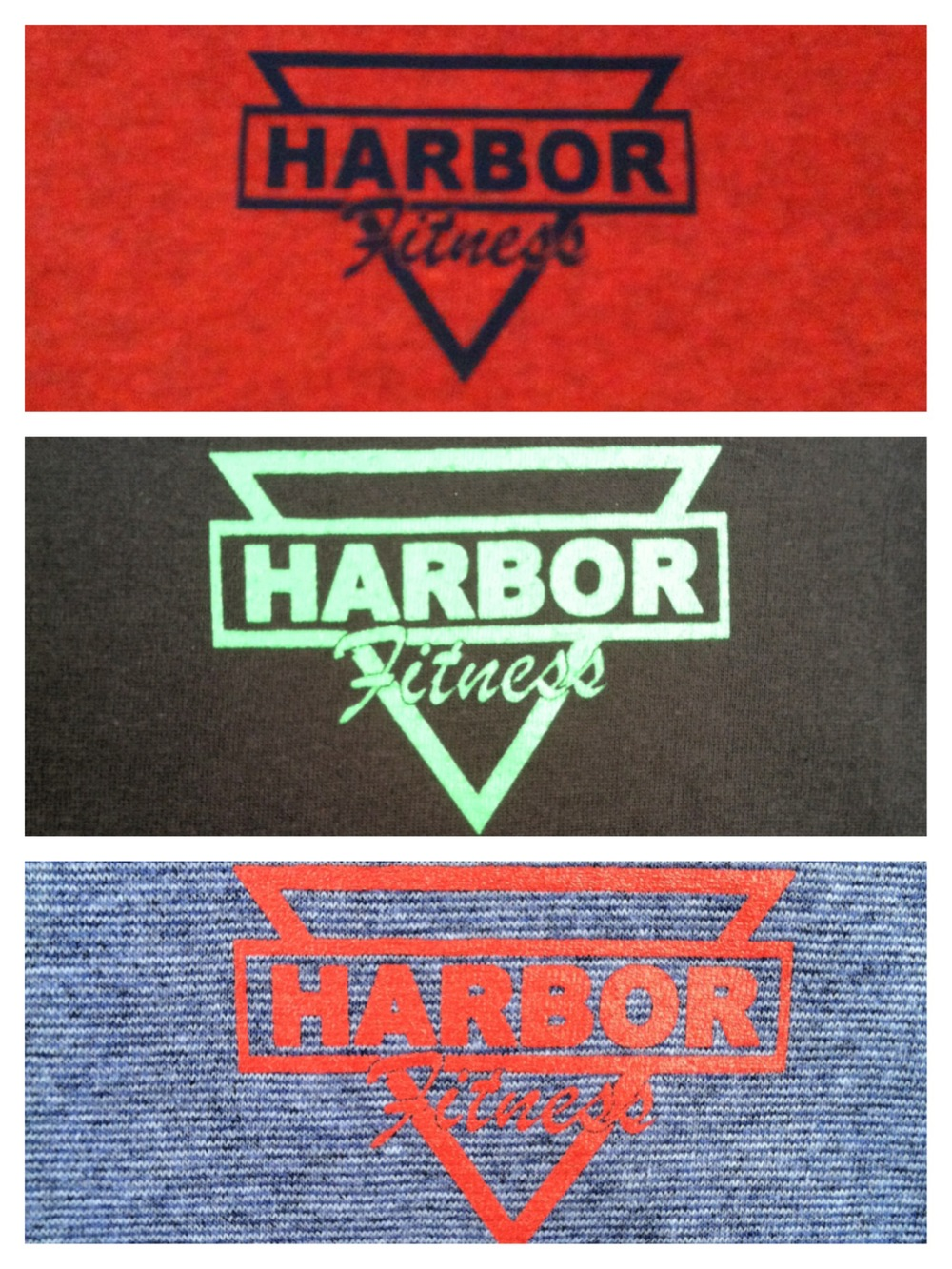Harbor Fitness Brooklyn's Gym T-Shirts (Front)