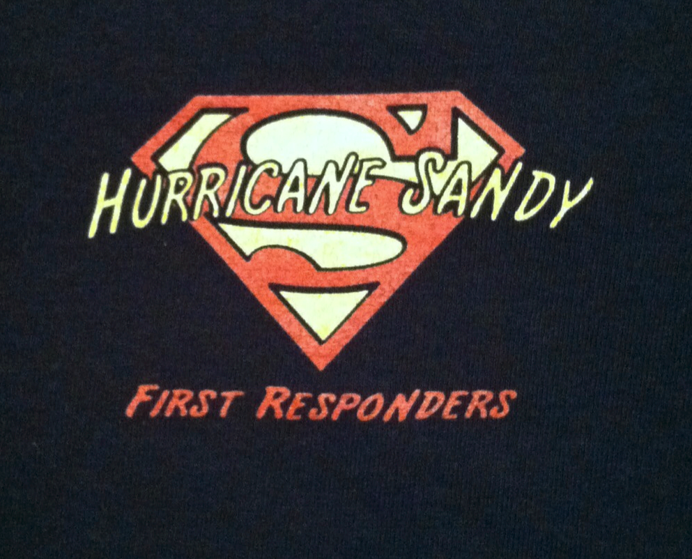 Hurricane Sandy: First Responder T-Shirts