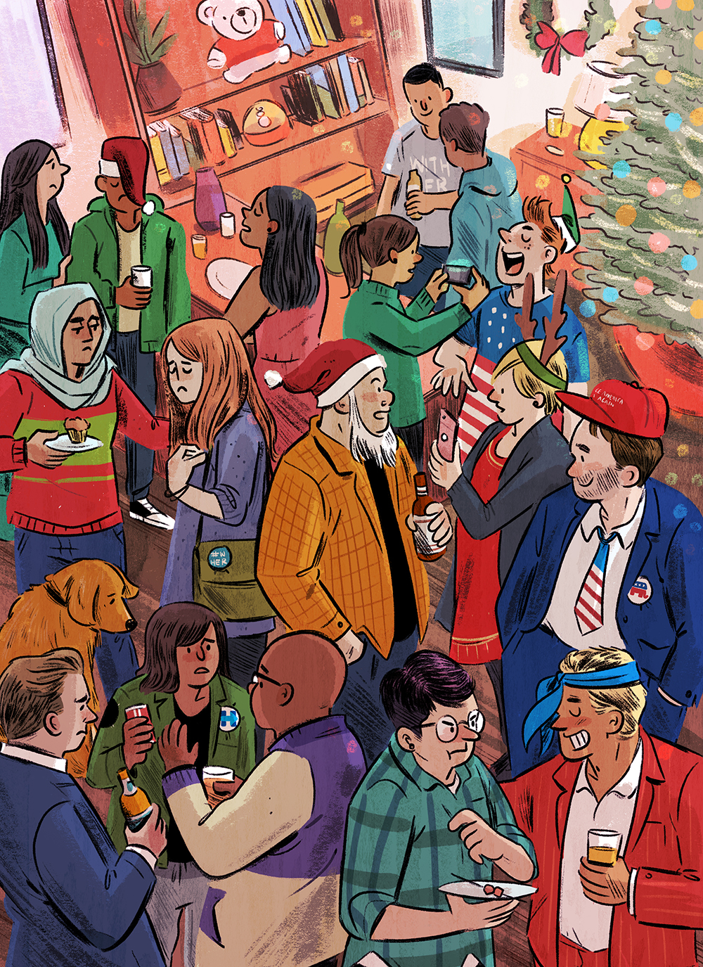 Holidays in the time of Trump  by Beth Teitell AD: Jane Martin  Read the Article  here