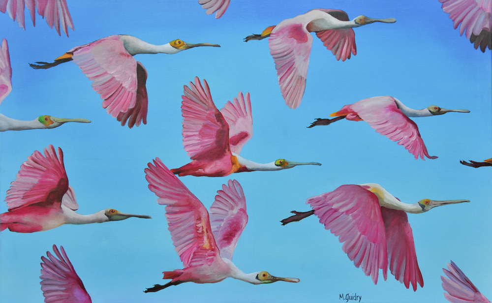 roseatespoonbills_#2_flock_louisiana_m.guidry_michael_guidry_oil_painting_marsh_new_orleans_artist.jpg.jpg