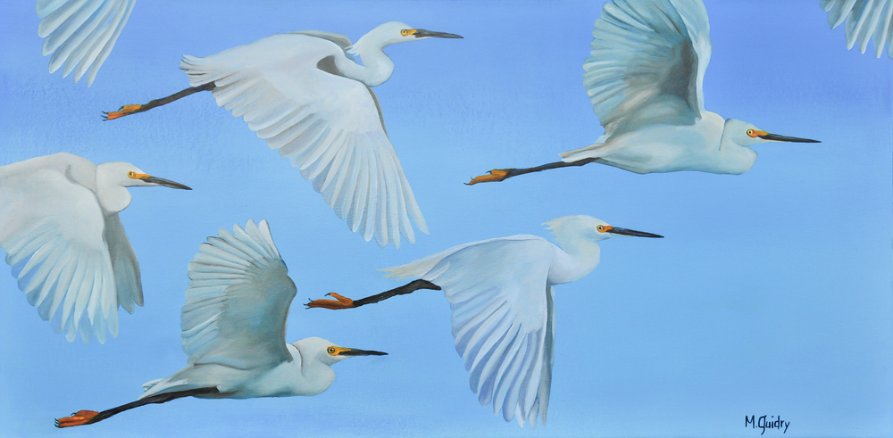 snowy_egrets_flock_louisiana_m.guidry_michael_guidry_oil_painting_marsh_new_orleans_artist.jpg