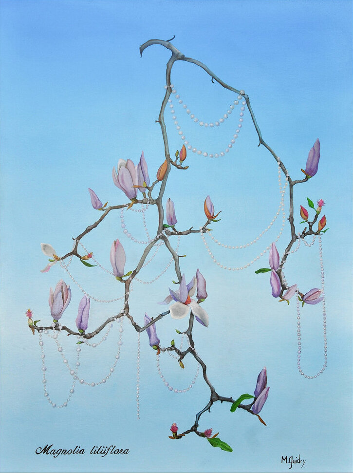 magnolia_liliiflora_japanese_tulip_mardi_gras_bead_tree_louisiana_m.guidry_michael_guidry_oil_painting_marsh_new_orleans_artist.jpg