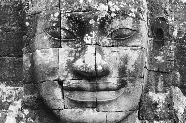 Cambodia trip: Bayonne temple - Angkor Thom. Photo by Basil Glew-Galloway.