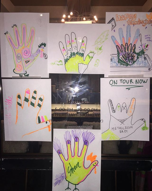 We present to yuns, Hand Turkeys 2k18. For your holiday viewing pleasure.