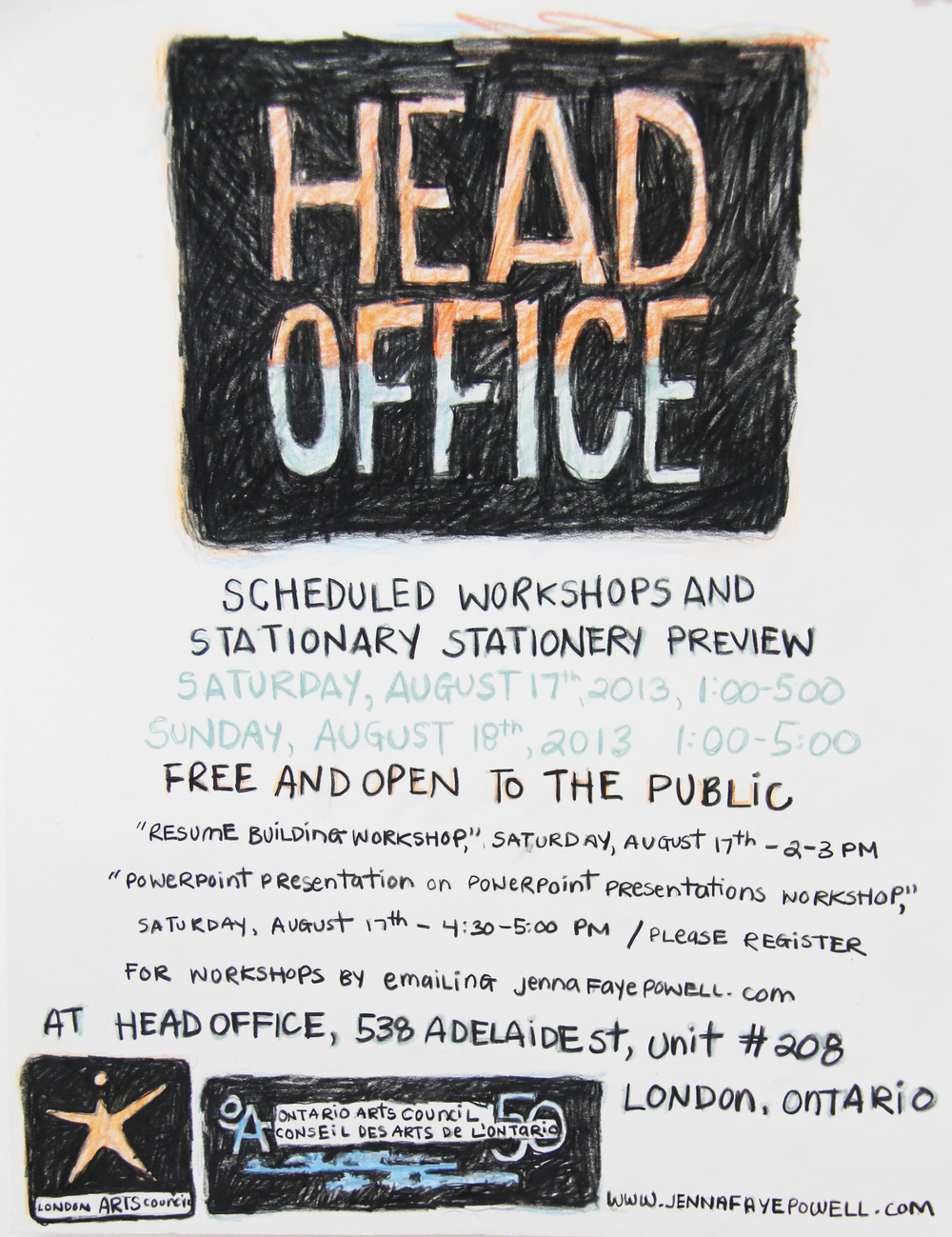 Head Office Workshop Poster