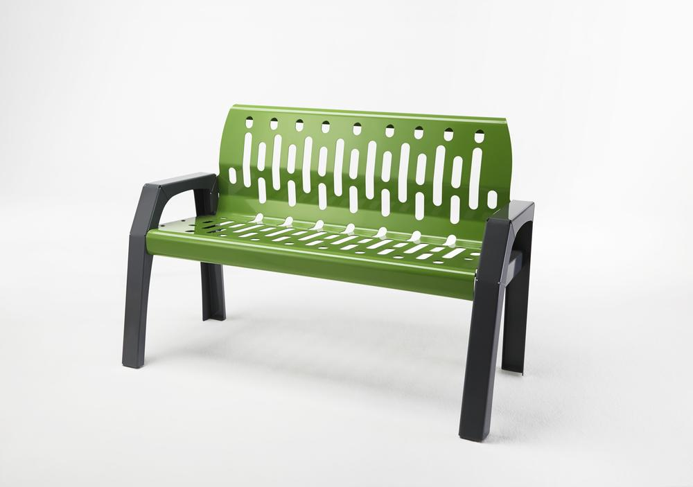 Frost 2040 - Stream 4' bench green hero.JPG