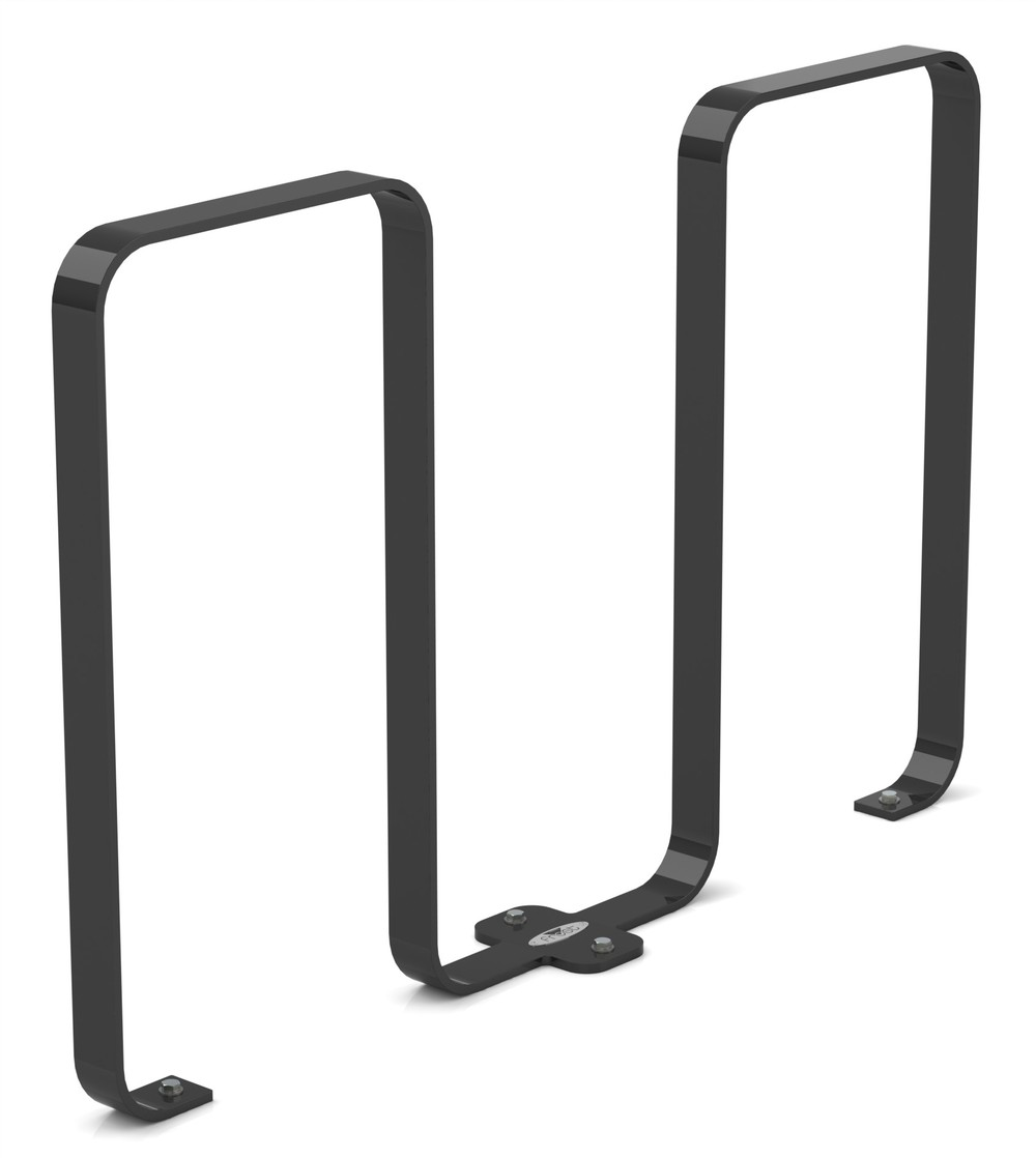 Frost 2080 - Linguini bike rack black.JPG