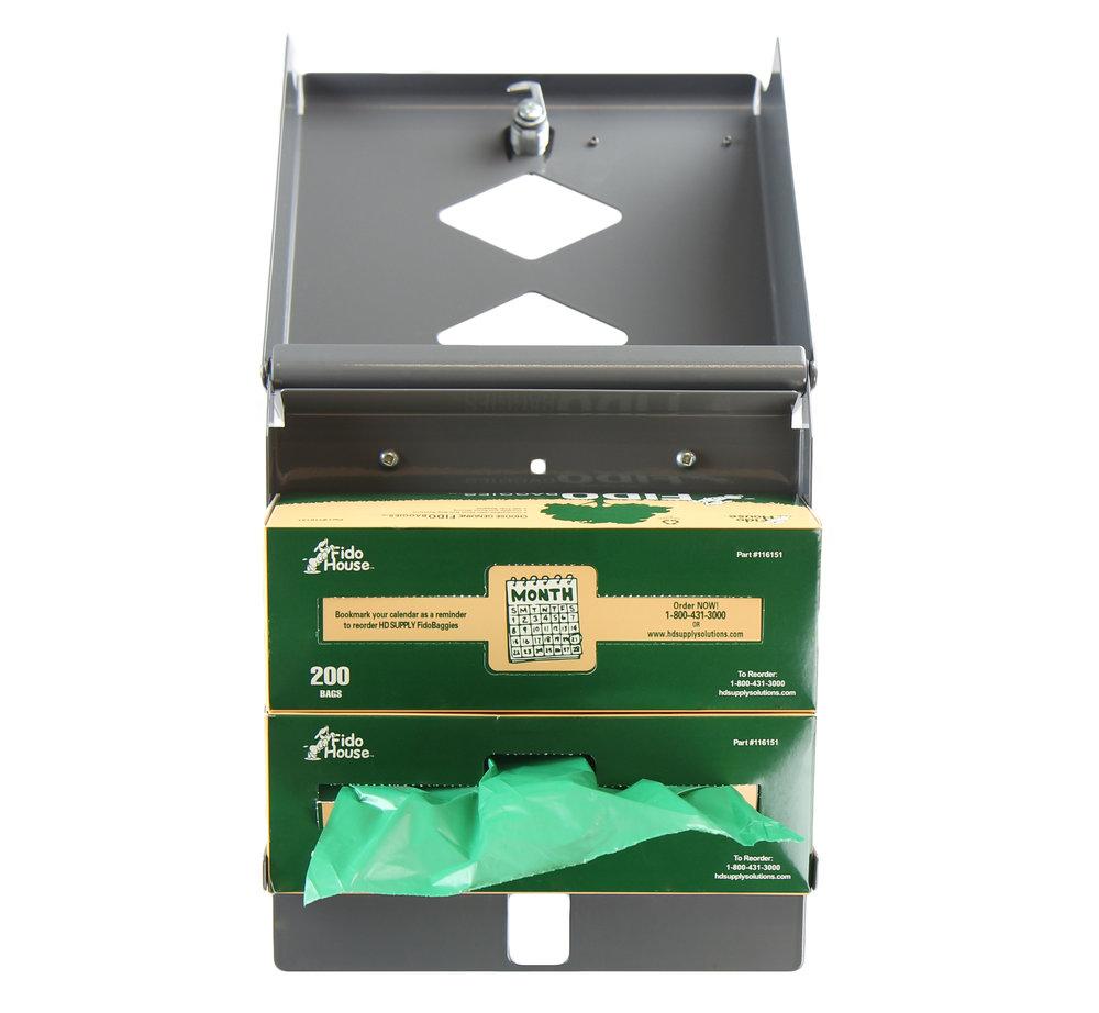 Frost code 2010 Pet Waste Bag Dispenser Open View.jpg