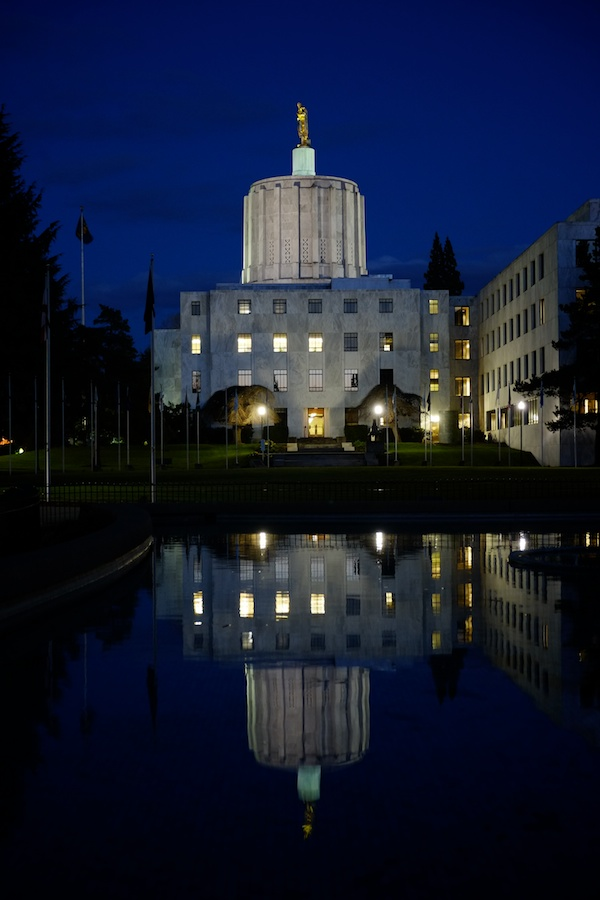 Oregon Capitol Building, Salem, Oregon