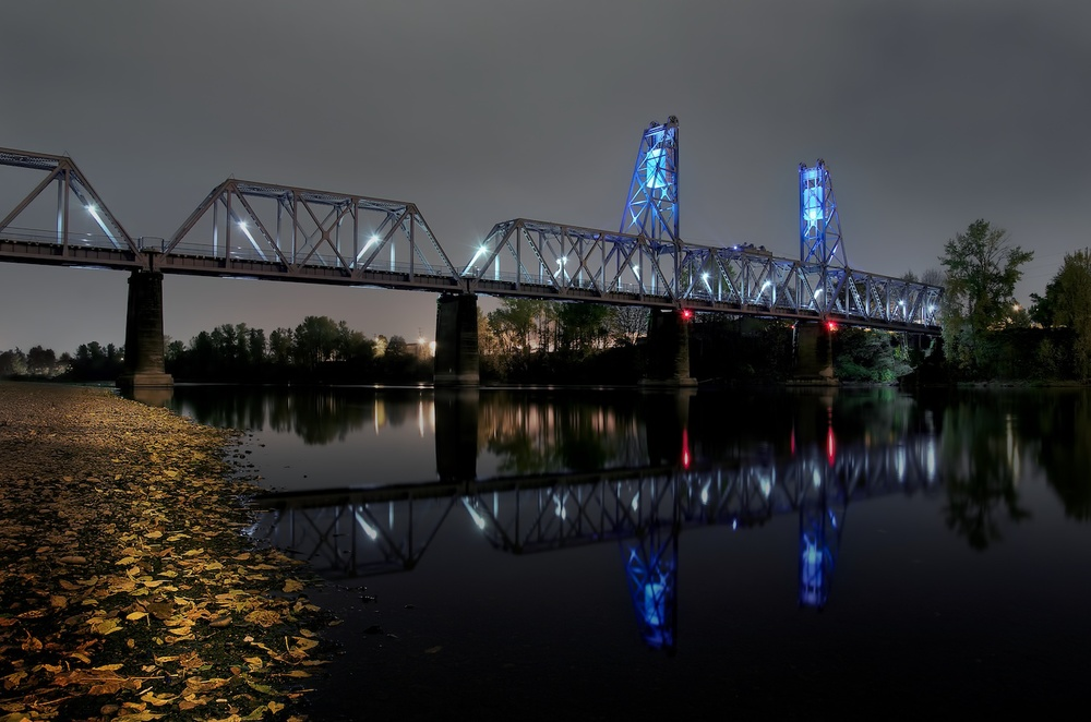 Union Railroad Bridge, Salem, Oregon