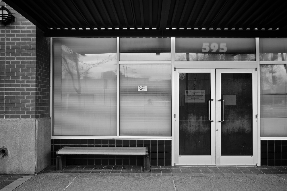 Not Safe for Occupancy. Courthouse Square Building, Salem, Oregon. Fuji X-E1. 18-55mm.